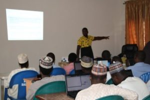 Trainer Delivering lectures